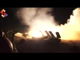 Сирийские РСЗО наносят удары по террористам ИГ к югу от Дамаска