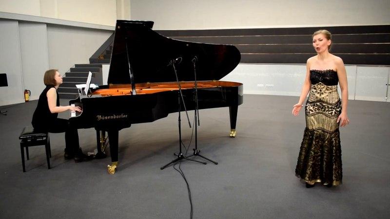 Anna Startseva Saint Saens Dalila's aria from Samson et Dalila Samson recherchant ma présence