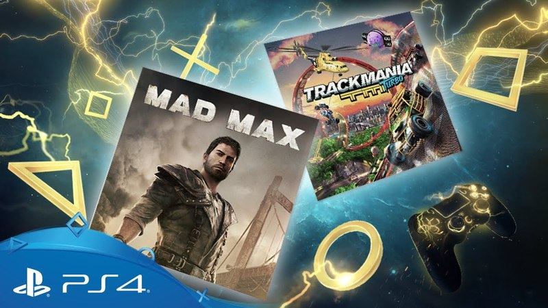 PlayStation Plus - April 2018 | Mad Max Trackmania Turbo | PS Plus Monthly Games