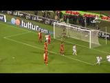 2010 - 2011 Sezonu - Beşiktaş-Galatasaray dakika 59 gol Mehmet Aurélio