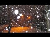 Падал  белый снег