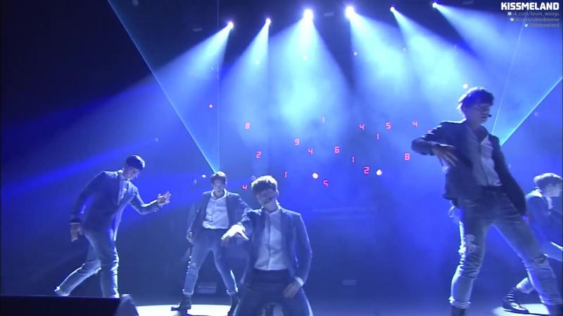 U KISS Tick Tack live @ U KISS Premium Live ~KEVIN'S GRADUATION~