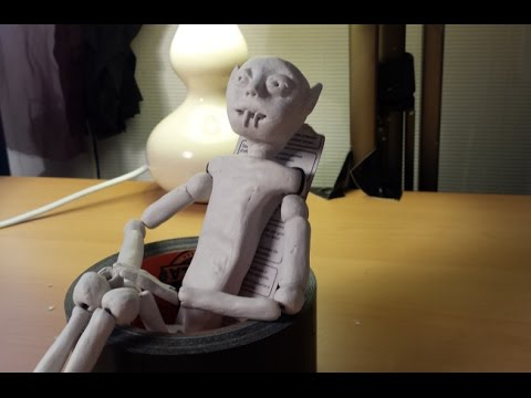DIY Clay Doll - Assembling the doll