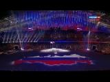 Гимн России в исполнении Сводного Детского Хора России с закрытия Паралимпиады в Сочи - 2014