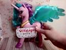 Игрушка Пони принцесса Селестия. Интерактивная лошадь Мой маленький пони!