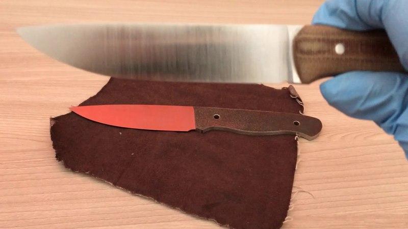 Подробный обзор ножа из vanadis 4e и клинка из м390.