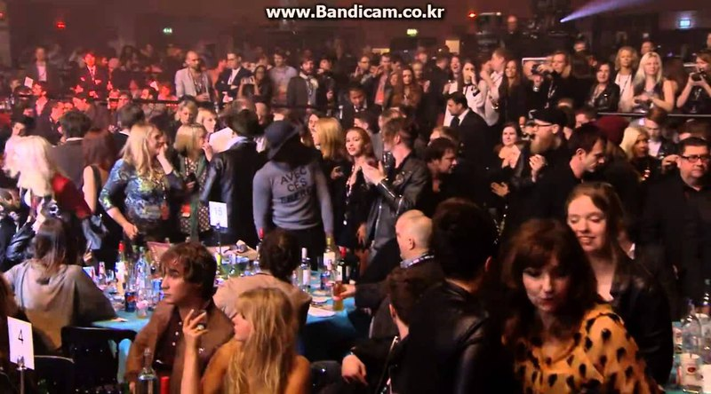 NME Awards 2015 with Austin, Texas Suede Accept Their Award For Godlike Genius video