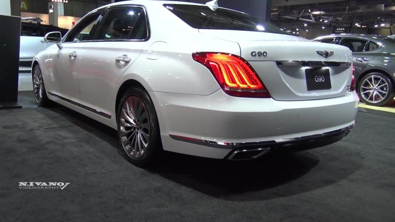 2018 Genesis G90 - Exterior And Interior Walkaround - 2018 Quebec Auto Show