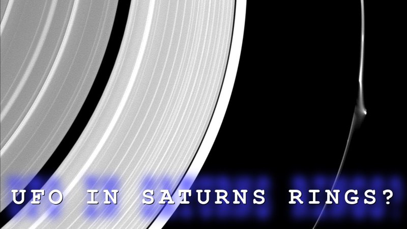 Is This Proof That UFO's Hide In Saturns Rings As NASA Scientist Claims?
