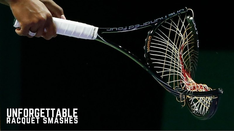 Tennis. Best Racquet Smashes of All Time