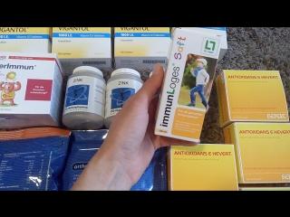 18. Продолжаю обзор витаминов: Antioxidans E Hevert и Immun Loges Saft с 1 года!