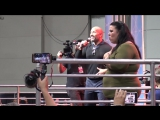 WWE Wrestlers The Rock Dwayne Johnson Wants to Wrestle - The Rock LA Comic Con 2017