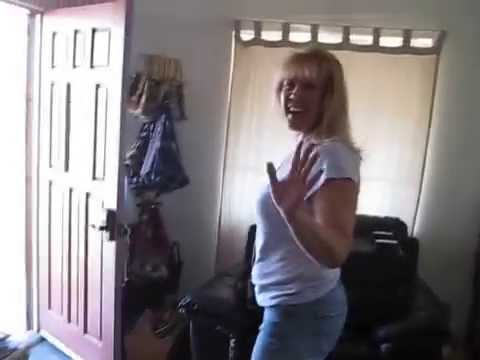Mom goofing around to Down by Jay Sean