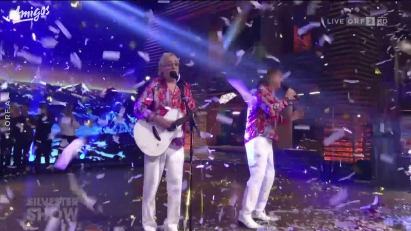 Amigos - Baby Blue DJ Mix (Silvestershow mit Jörg Pilawa 31.12. 2017)