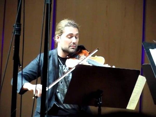 David Garrett - 07.12.13 - Tel Aviv