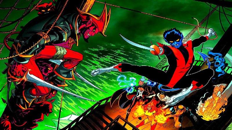 Marvel Infinity War ep5 (Nightcrawler/Ночной Змей) X-Men: Mutant Apocalypse Война Бесконечности эп5