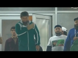 Роналдиньо нанёс символический удар по мячу перед матчем «Ахмат» — «Амкар»