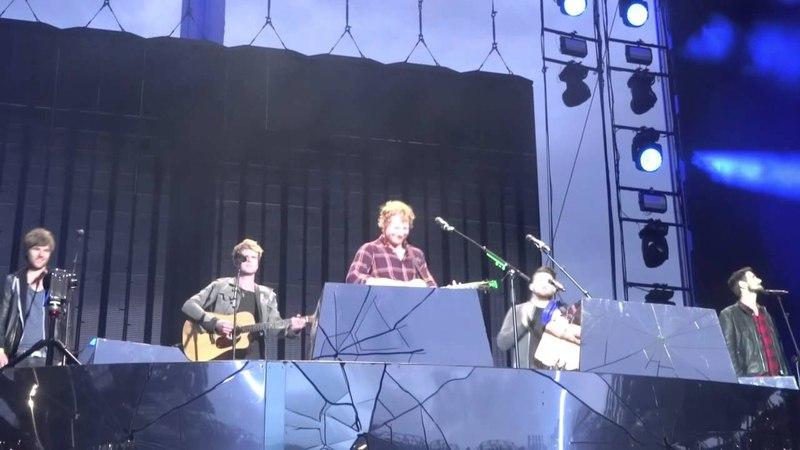All I Want - Ed Sheeran Kodaline - Croke Park 24/07/2015