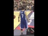 Фанкам 170910 Джексон @ Super Penguin All Star Basketball Game в Шанхае