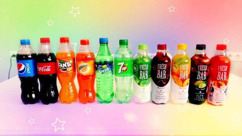[Альбиносик :)] УГАДЫВАЕМ Coca-Cola, Fanta, Sprite....ШОК ОТ МИРИНДЫ