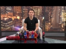 Том Холланд снял ответное видео для Криса Хемсворта