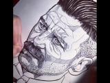 www.thebearhug.com Peaky Blinders fan art Arthur Shelby