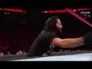 Dean Ambrose [w/ Seth Rollins] vs Sheamus(c) [w/ Cesaro(c)]