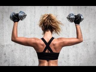 Комплекс упражнений для девушек и женщин. Упражнения с гантелями