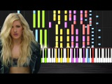 Calvin Harris - Outside ft. Ellie Goulding IMPOSSIBLE REMIX by PlutaX - piano