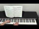 Л. Бетховен К Элизе. Урок для фортепиано Часть 1.
