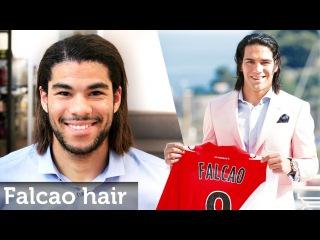 Radamel Falcao ★ Long Football Hairstyle For Men