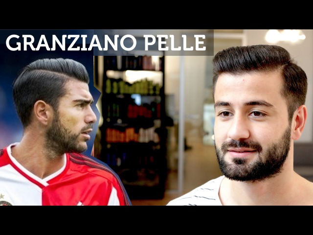 Graziano Pelle Hair | Football Player Hairstyle | Men's Short Hair Tutorial | Slikhaar TV