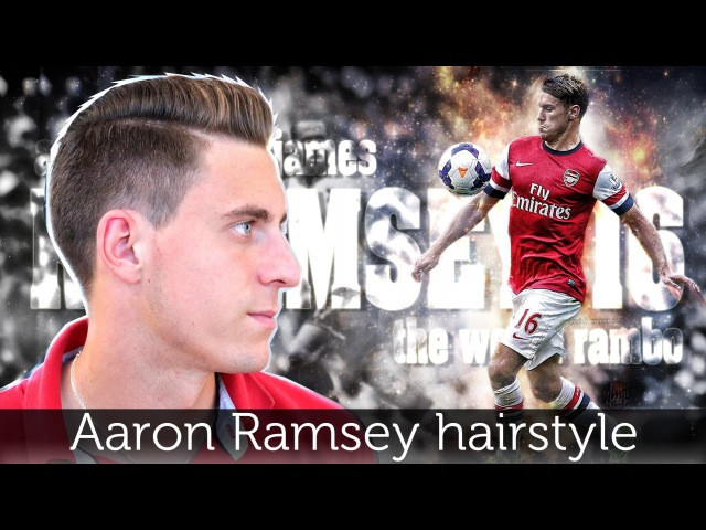 Aaron Ramsey Hair Tutorial | Men's Hairstyle Inspiration | Slikhaar TV