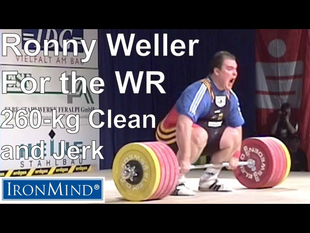 IronMind Big Lift Series: Ronny Weller 260-kg Clean and Jerk