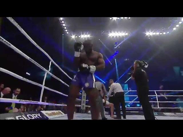 GLORY 16 Denver - Zack Mwekassa vs. Pat Barry (Full Video)