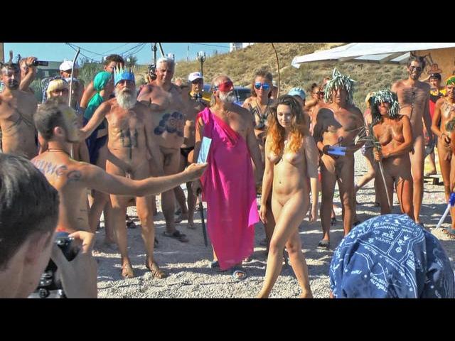 Nudist Neptune Festival 2014 in Crimea