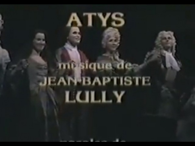 Lully : Atys (Christie, Villégier, 1987) full version / version complète