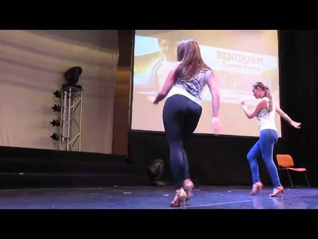 Shani Talmor And Cyra Benidorm Salsa Congress 2014 Master Class