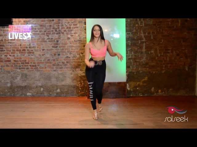Advanced Salsa Ladies Styling Demo by Shani Talmor