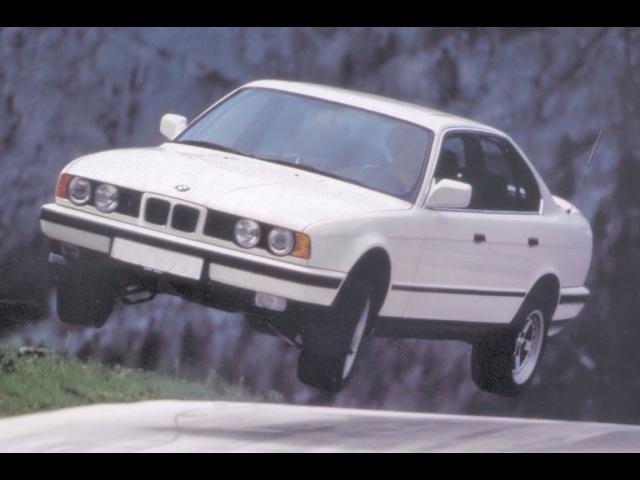 BMW E32E34 Crash Test - Краш тест 7 серии БМВ