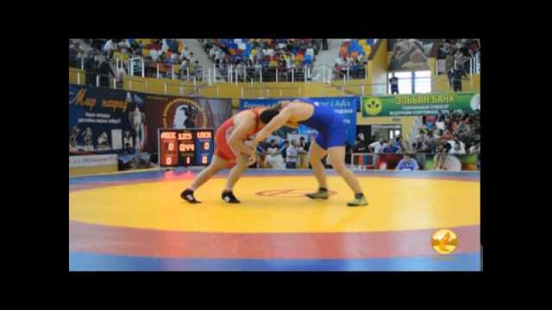 125 кг. Али Исаев (Азербайджан) - Александр Хоцяновский (Украина)
