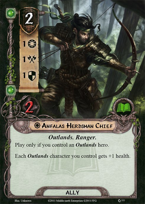 Lord Of The Rings Lcg Leadership Outlands