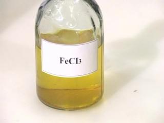 Качественная реакция на фенол с хлоридом железа (III)