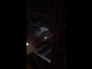 Inside of the restaurant in 40 floor