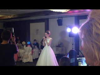 Самая красивая и трогательная песня-подарок невесты жениху на свадьбу.