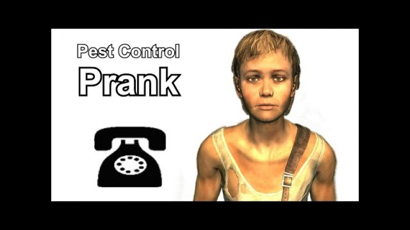 Bryan Wilks Calls Pest Control - Fallout 3 Prank Call