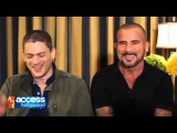 Wentworth Miller & Dominic Purcell On Working Together On 'The Flash'