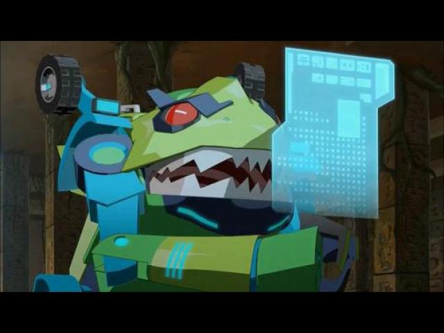 Трансформеры: Роботы под Прикрытием - 1 сезон 9 серия HD