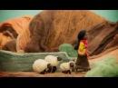 Мультфильм, созданный из игрушек из шерсти валяние