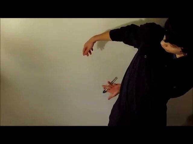 Нож-бабочка Балисонг Трюки